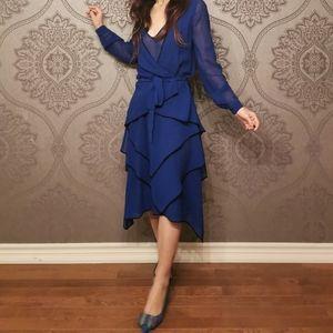 BCBG MaxAzria RUNWAY silk dress